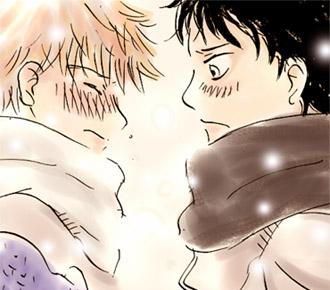 抱きしめて涙を拭いてやりたい、けどしない